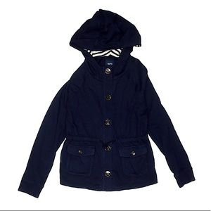 Navy Sweater Jacket